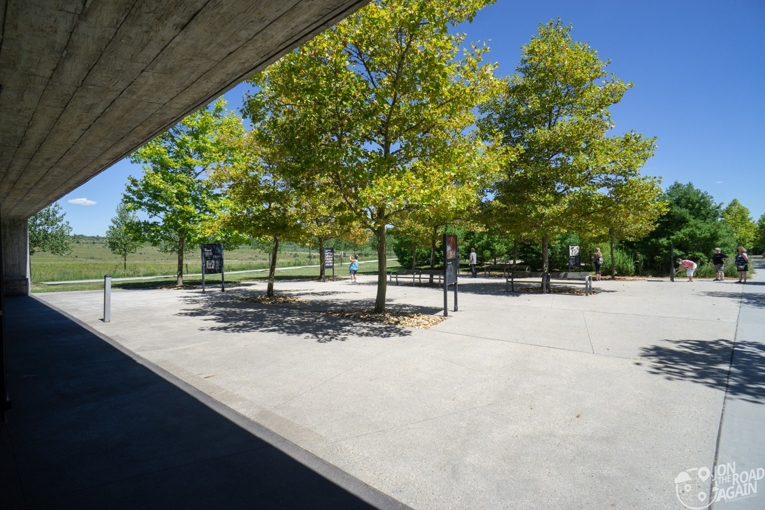 Memorial Plaza Visitor Shelter