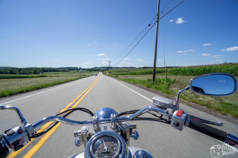 Pennsylvania Motorcycle Road