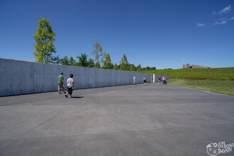 Flight 93 wall of names