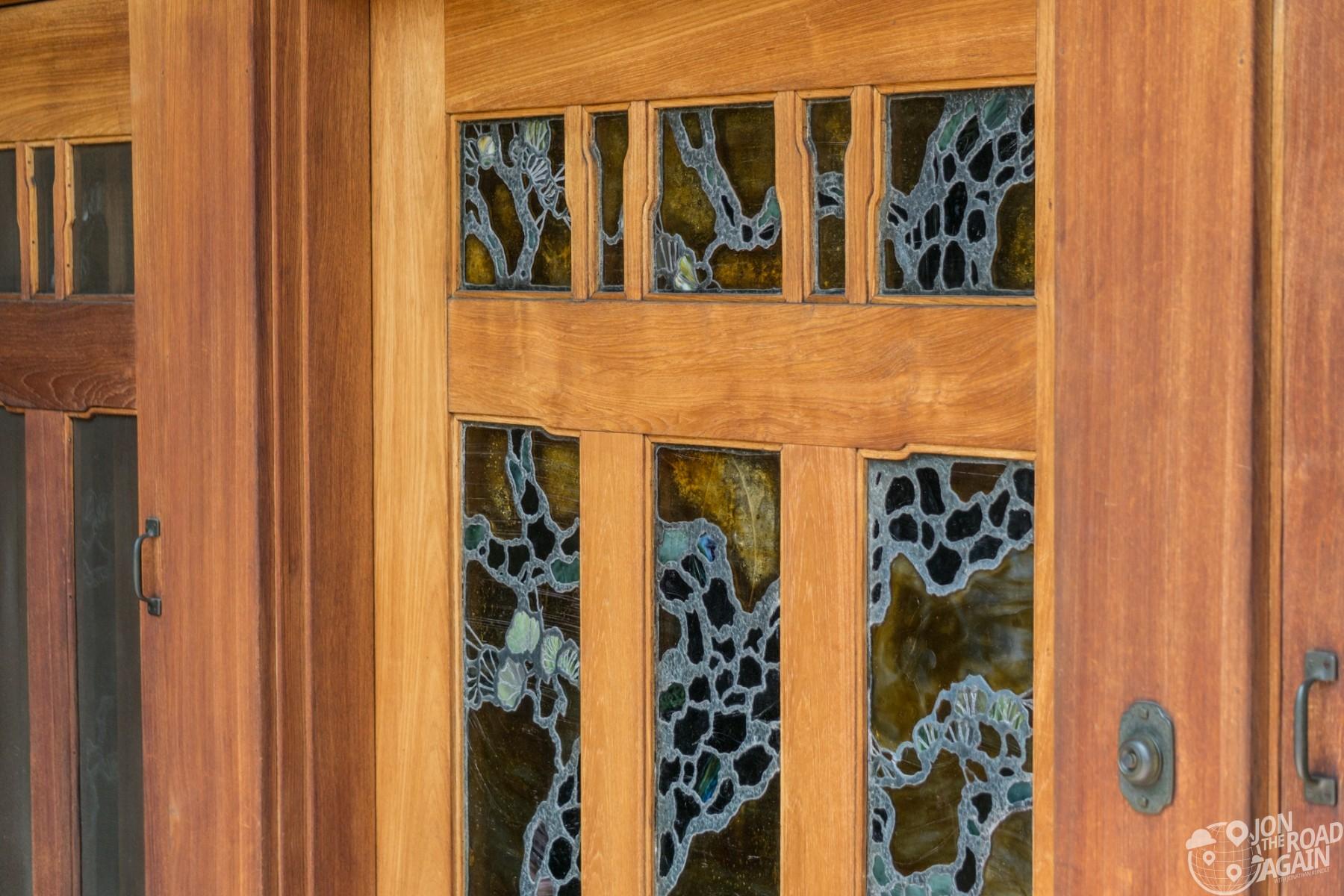 Doc Brown House Door
