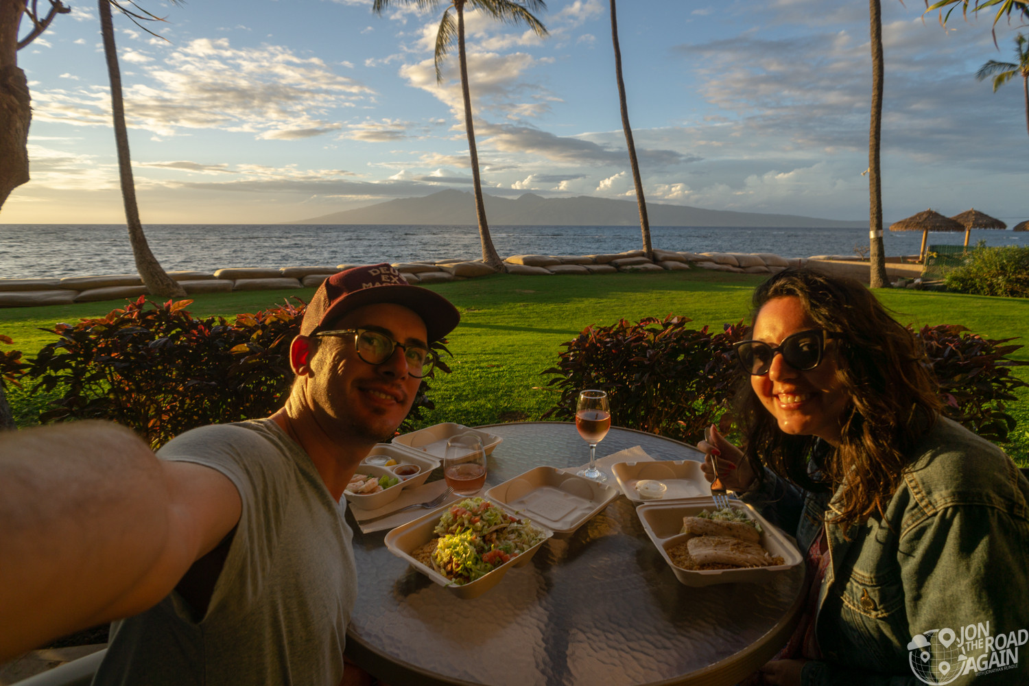 Maui dinner during COVID