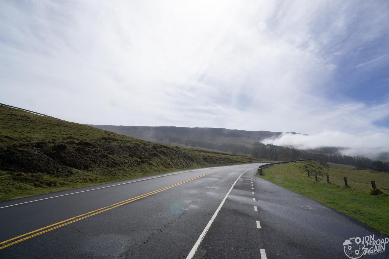 Haleakala National Park road