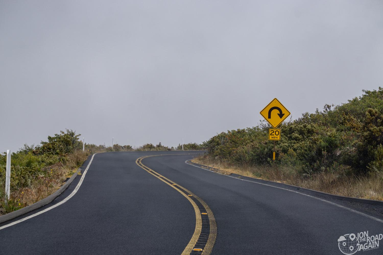Road on Haleakala National Park