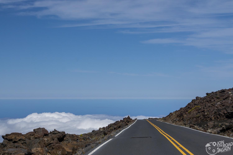 Road to the summit Haleakala