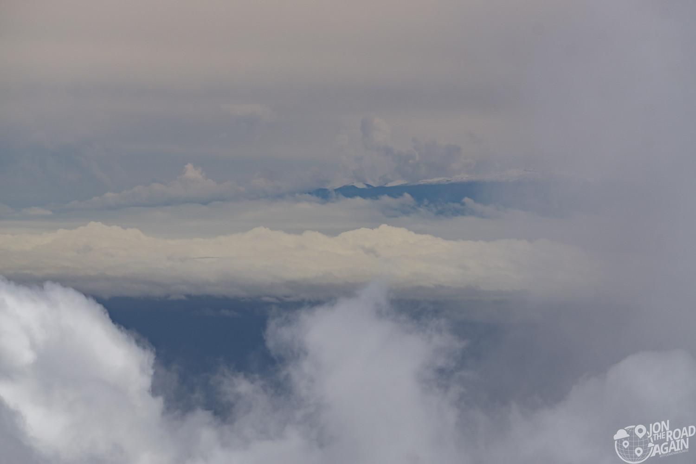 Big island from Haleakala National Park