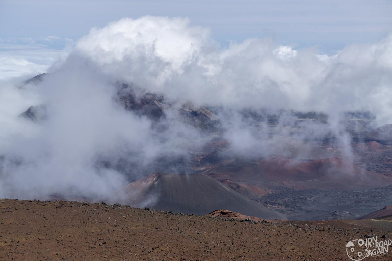 Haleakala crater summit