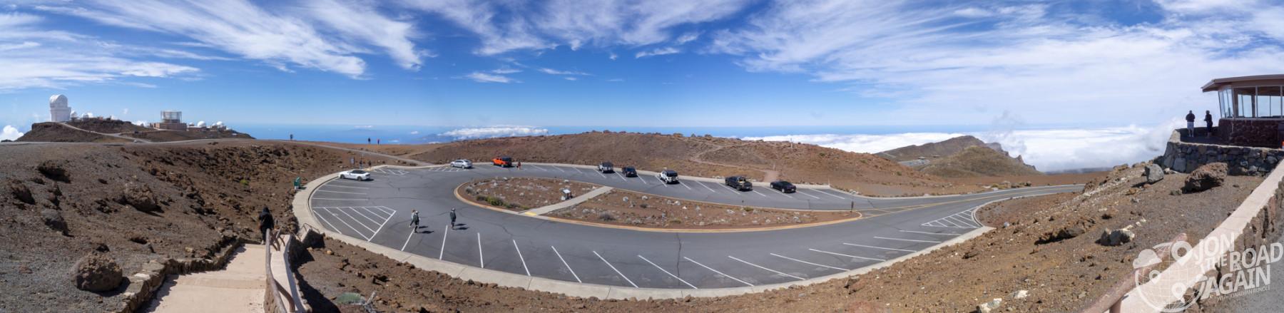 Haleakala summit panorama