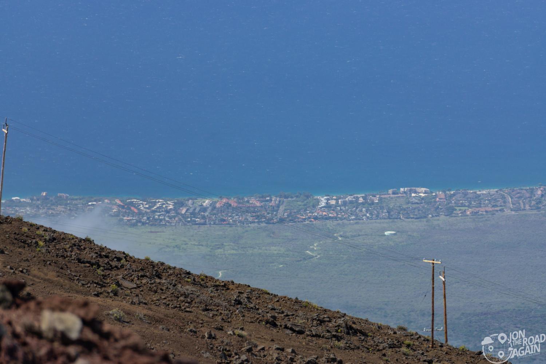 Kihei as seen from Haleakala