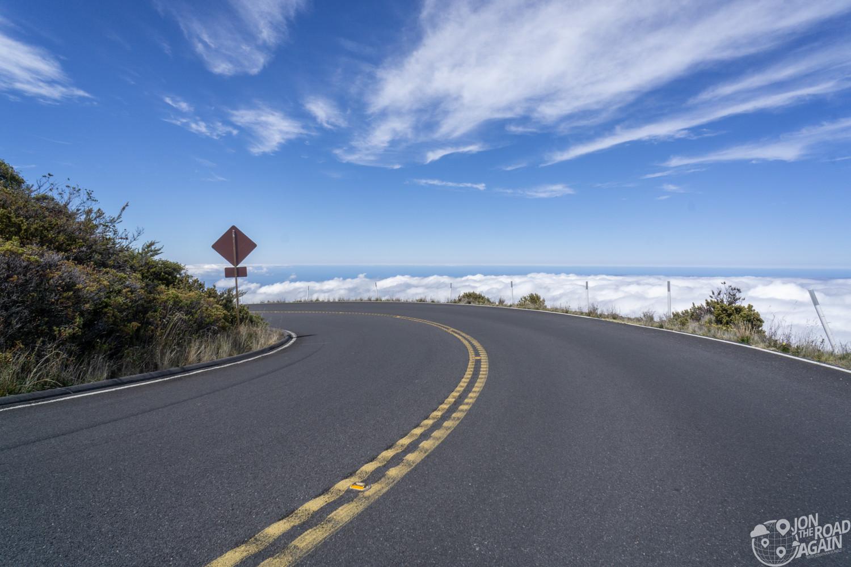 Haleakala turn above the clouds