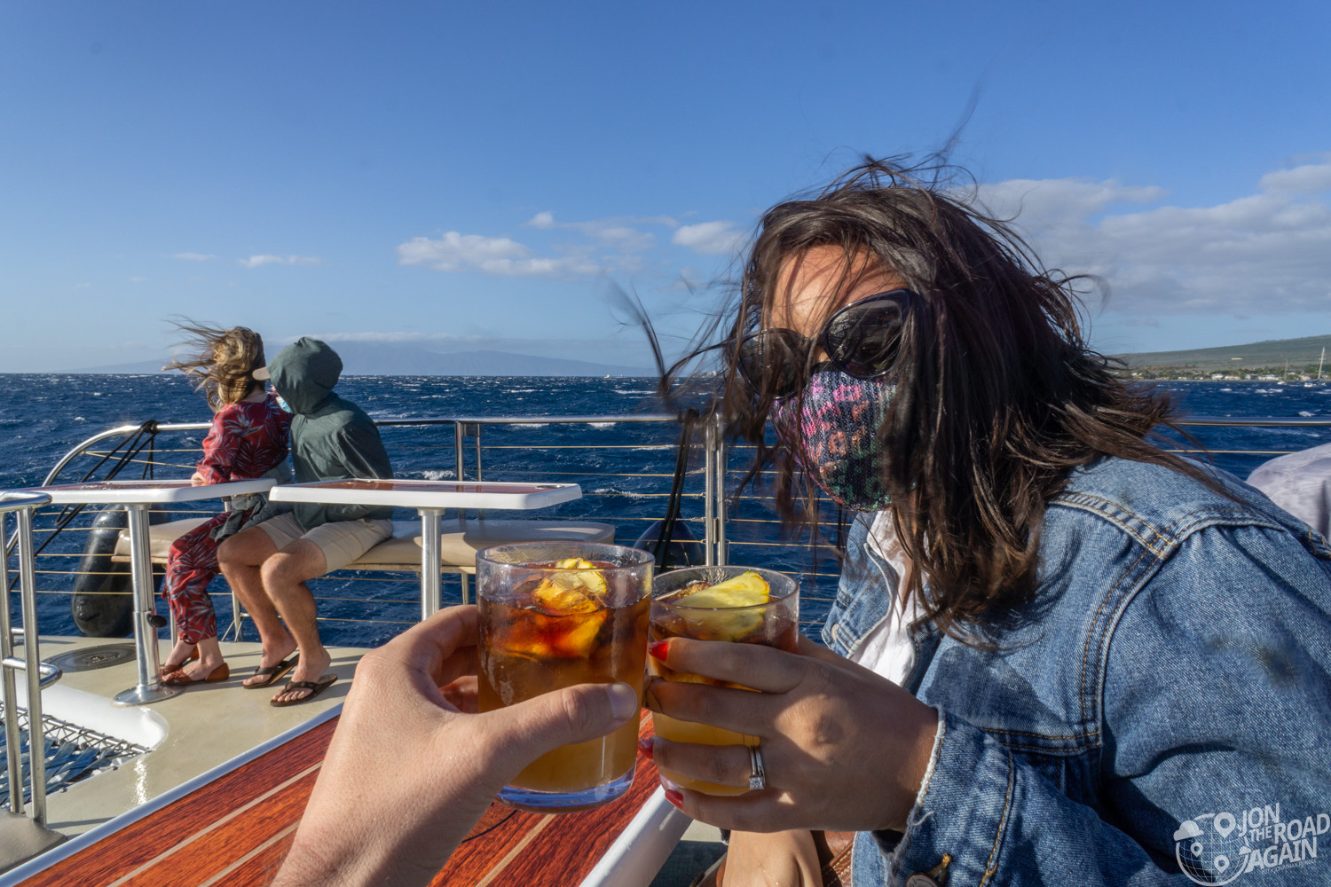 Maui Sunset Cruise Drinks