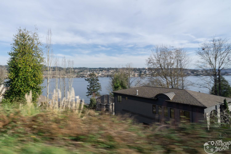 Views from Mercer Island