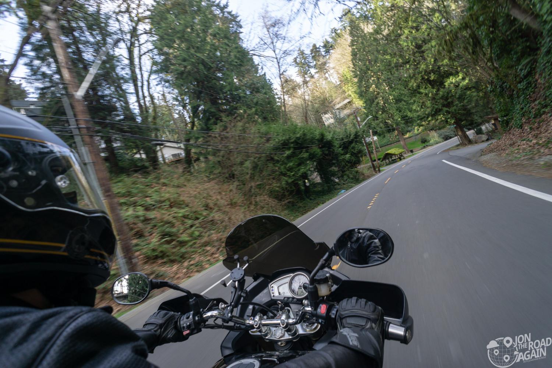 Motorcycling Mercer Island Loop