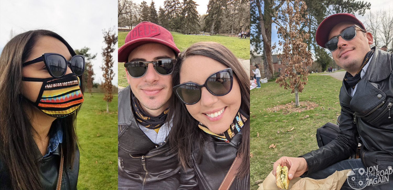 Lunch at Luther Burbank Park