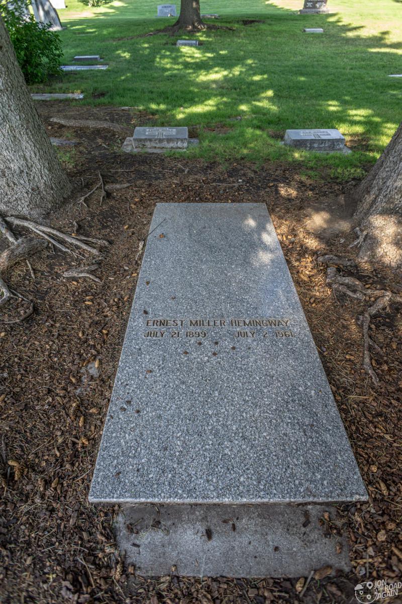 Ernest Hemingway Gravestone