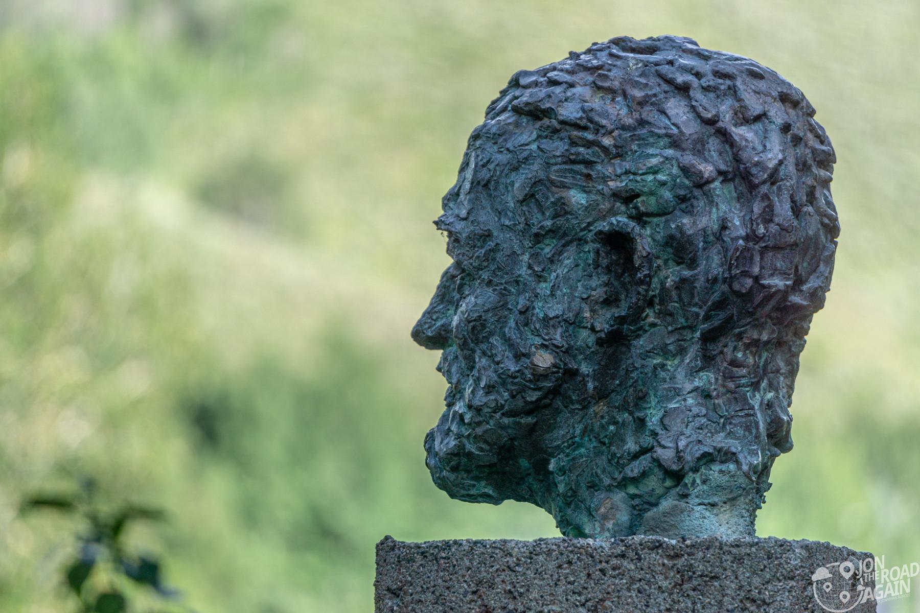 Ernest Hemingway Memorial bust