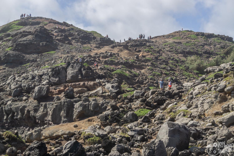 Nakalele Blowhole hike